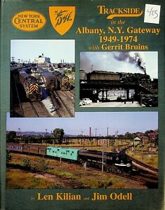 DR425 MORNING SUN BOOKS TRACKSIDE IN THE ALBANY, NY GATEWAY 1949-1974 DH NYC