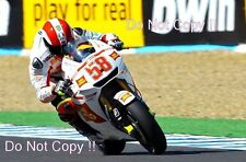 Marco Simoncelli San Carlo Honda Gresini Moto GP Jerez Spain 2010 Photograph 1