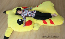 Pikachu Bed Carpet Tatami Mattress Sofa Bed Filled Large toys doll kids Gift hot