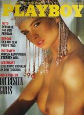 PLAYBOY + 10/1988 + PLAYMATES + FERRARI + F40 +TOSKANA + WOLFGANG NIEDECKEN +