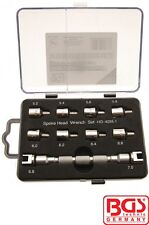 BGS Tools 10 Piece Spoke Wrench Set For Motorcycles 8360