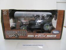 Highway 61 Origins of Speed Model A Black Dry Lake Roadster New In Unopened Box