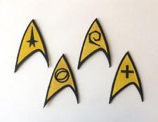 Star Trek TOS Original Series Patches (Set f 4)