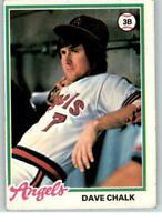 1978 Topps #178 Dave Chalk F1C190