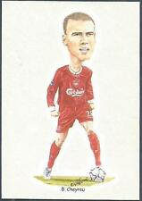 LIVERPOOL FOOTBALL CARDS-2002- #04-BRUNO CHEYROU