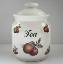 Melba Kitchen Ware Tea Canister Storage Jar Ceramic Staffordshire England