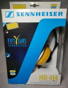 Senheiser HD 414 Classic Black Headphones Brand New In Box