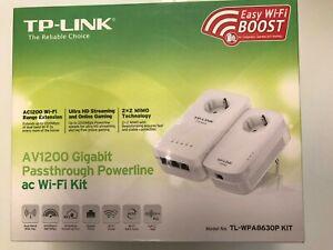 TP-Link AV1200 Gigabit Powerline ac Wi-Fi Kit - für Schweizer Steckdose!