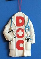 Medical Doctor DOC Christmas Ornament Graduation Gift Box Stethoscope MD DO DC