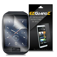 6X EZguard LCD Screen Protector Skin HD 6X For Samsung Gear S Smartwatch (Clear)