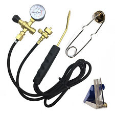 Portable Oxy Mapp Gas Welding Cutting Brazing Kit High Pressure Oxygen Hot Devil
