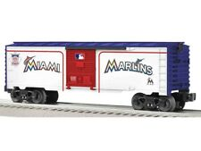 Lionel 6-81930 Miami Marlins Major League Baseball Box Car O Gauge Trains