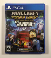 Minecraft: Story Mode The Complete Adventure (PlayStation 4, PS4) Fast Shipping