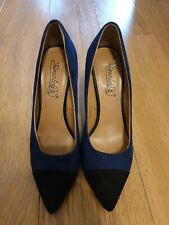 shoes size 6 black and blue by timeless