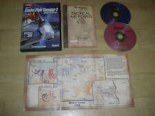 Microsoft COMBAT FLIGHT SIMULATOR 3 Pc Cd Rom Sim Battle For Europe CFS CFS3