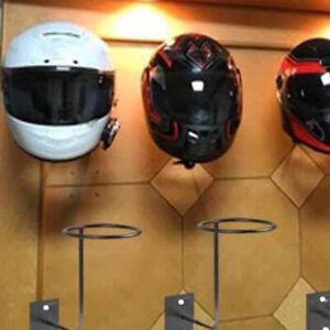 Motorcycle Helmet Holder Hanger Rack Wall Mounted Hook for Hat Cap Helmet Ra UK