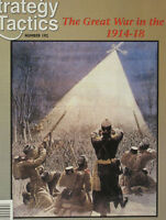 Strategy & Tactics 192, S&T, Great War in the East, 90% Unpunched, Bonus!