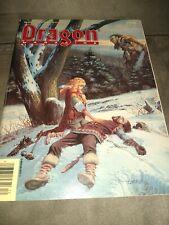 Dragon Magazine #140 AD&D TSR.  VG Condition Dec 1988 Cover by Larry Elmore D&D