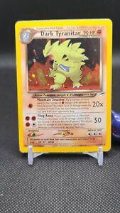 Pokemon - Dark Tyramitar 11/105 Holo Rare Neo Destiny Pls Read