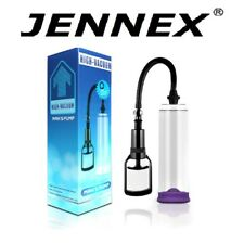 "JENNEX Manual Penis Pump 8.5"" Inches Increase Legnth Girth Delay Training"