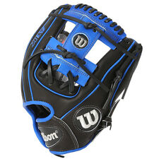 "Wilson A1K Baseball RHT Glove For Infielder 11.5"" Black/Blue WTA1KRB16DP15B"