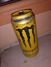 RARE Monster Energy Ultra Citron YELLOW TOP! ONE (1) Full, Sealed 16 oz Can