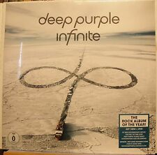 "Deep Purple ""Infinite"" 2LP Record 2017 45 RPM 180g + DVD Documentary NEW!"