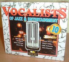 DORIS DAY, FRANK SINATRA ua Great Vocalists Of Jazz & Entertainment 10 CDs (NEU)