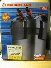 MARINELAND MAGNIFLOW 220 CANISTER FILTER NEW IN THE BOX.
