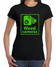 Weed Camera Funny Cannabis Women's T-Shirt