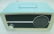 Philips Ipod Dock Speaker Dual FM Radio Alarm Clock ORD2100B/37 Retro Vintage