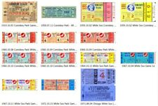 Reproduction WORLD SERIES BASEBALL TICKETS - CHICAGO WHITE SOX - Comiskey Park