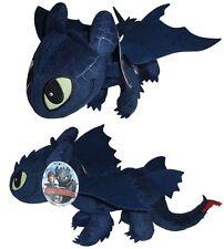 Dragons Drachenzähmen leicht gemacht Ohnezahn 40 cm Toothless Stofftier Plüsch