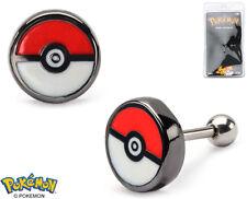 """Pokemon Earrings Pokeball Cartilage 18g 5/16""""  - BRAND NEW"""