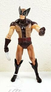 """2012 Diamond Select Marvel Select Masked Wolverine Brown Suit 6"""" Action Figure"""