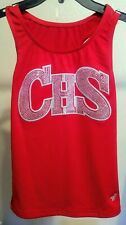 Varsity Brand Cheerleader Red Top Chs size Large