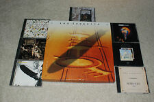 Led Zeppelin/Plant CD Lot Box Set I, III,IV.In Through The Out Door,Promo