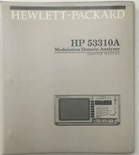HP 53310A Modulation Domain Analyzer Service Manual P/N 53310-90005