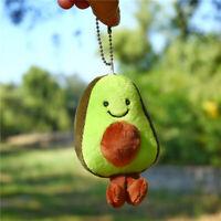 Key Chain Kawaii Avocado Corduroy Dolls Plush Little Pendant Creative Gift Toys