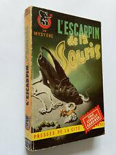 L'ESCARPIN 1950 STANLEY GARDNER MYSTERE N°35 POLICIER PERRY MASON