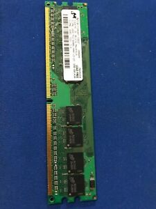 Micron MT8HTF6464AY-53EB7 PC2-4200/DDR2-533 (512MB x 1) RAM DIMM Non-ECC  NEW