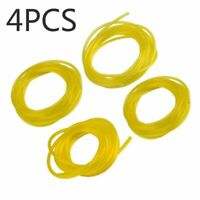 4X Petrol Fuel Gas Line Hose Pipe For String Trimmer Chainsaw Blower Engine SET
