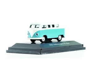 WELLY HO scale DIECAST ~ 'VOLKSWAGEN T1 BUS' 1963 ~ FULLY ASSEMBLED 1/87 MODEL