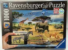 Ravensburger 1000 Piece Jigsaw Puzzle + Video-Effect Animals Of Africa Safari