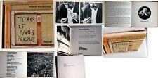 PIERRE ALECHINSKY TITRES ET PAINS PERDUS... DENOËL 1965