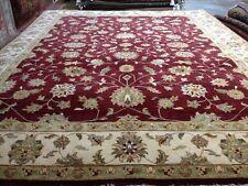 8 x 10 Fine Quality Indo Peshavar Hand Knotted Oriental Rug Wool