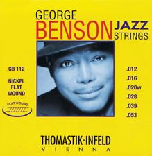 Thomastik George Benson Jazz 12-53 Flatwound Electric Guitar Strings GB112