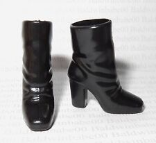 SHOES ~ BARBIE DOLL MODEL MUSE BLACK BELLA TWILIGHT SLOUCH ANKLE BOOTS