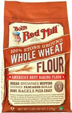 Bob's Red Mill 100% Stone Ground Whole Wheat Flour 5lb Bag