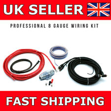 8 AWG Gauge Car Amplifier Kit Connects2 Complete Amp Sub Woofer Full Wiring Kit